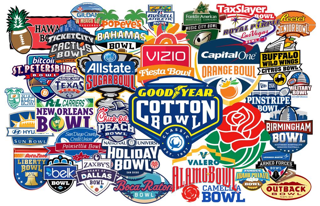 2016/2017 Bowl Game Predictions!!!!!